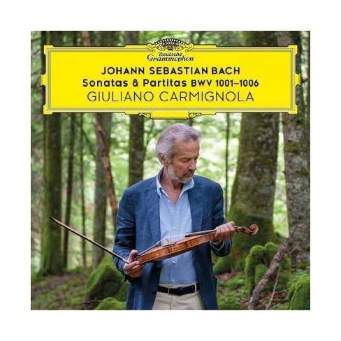Giuliano Carmignola - Bach: Sonatas & Partitas (CD) - image 1 of 1