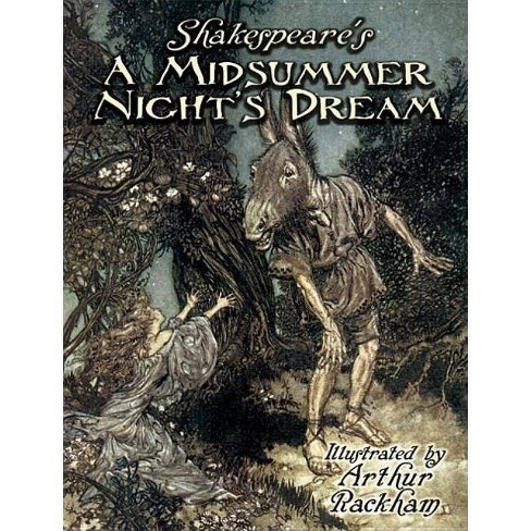 Shakespeare's A Midsummer Night's Dream - (Dover Fine Art, History Of Art) By William Shakespeare (Paperback) : Target