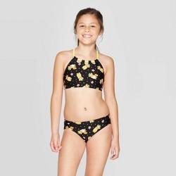 "Girls' ""I'm a Pineapple"" Bikini Set - Cat & Jack™ Black"