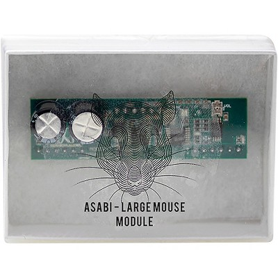 Jackson Audio Large Mouse Analog Plug-in Module for ASABI Overdrive/Distortion Pedal Black