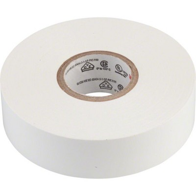3M Electrical Tape Finishing Tape White 66ft 3/4""