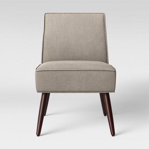 Modern Unique Accent Chairs.Norris Modern Slipper Accent Chair Light Brown Project 62
