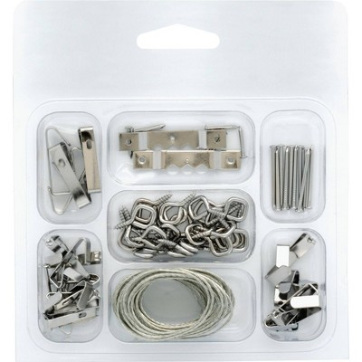 Liberty Light/Medium Picture Hooks and Hangers Assortment
