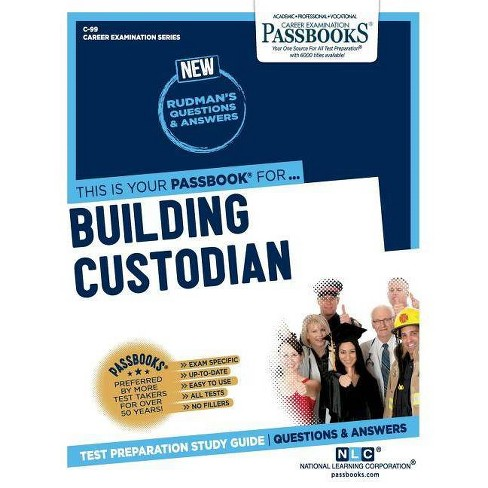 Building Custodian - (Career Examination) by  National Learning Corporation (Paperback) - image 1 of 1