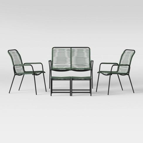 Fitchburg 5pc Patio Conversation Set