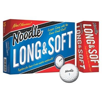 Noodle® Long & Soft Golf Balls - 15pk