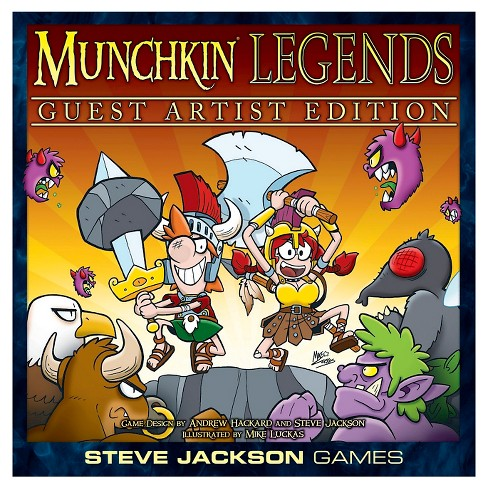 Munchkin Legends Guest Artist Ed 15pc - image 1 of 5