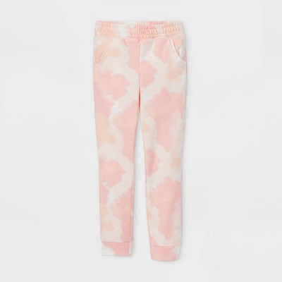 Girls' Cozy Fleece Jogger Pants - Cat & Jack™