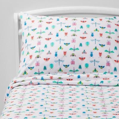 3pc Toddler Species Study Microfiber Sheet Set - Pillowfort™