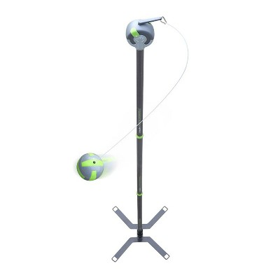 Viva Active Ultimate 2-in-1 Outdoor Swing Ball and Tetherball Game Set with Pole, Rope, and Stand and Soft Grip Paddles Included