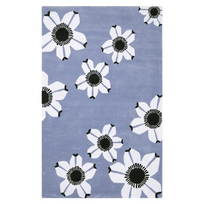 Allure Rug - Blue - (4'X6')- Safavieh