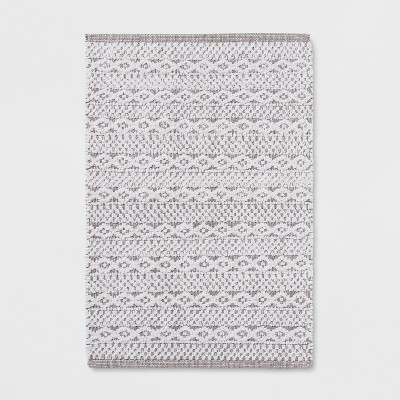 Chenille Bath Mat Fresh White - Threshold™