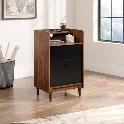 2 Drawer Harvey Park Stand with File Grand Walnut - Sauder
