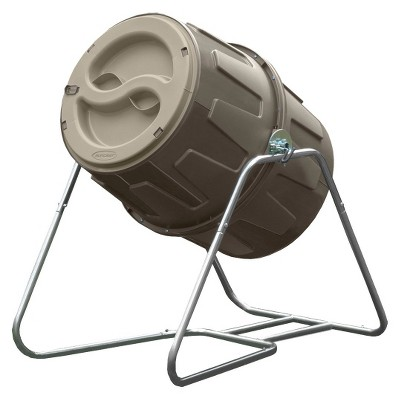 Suncast Tumbling Compost Bin - Brown - Suncast