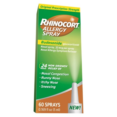 Rhinocort 24 Hour Allergy Relief Nasal Spray - Budesonide - image 1 of 2