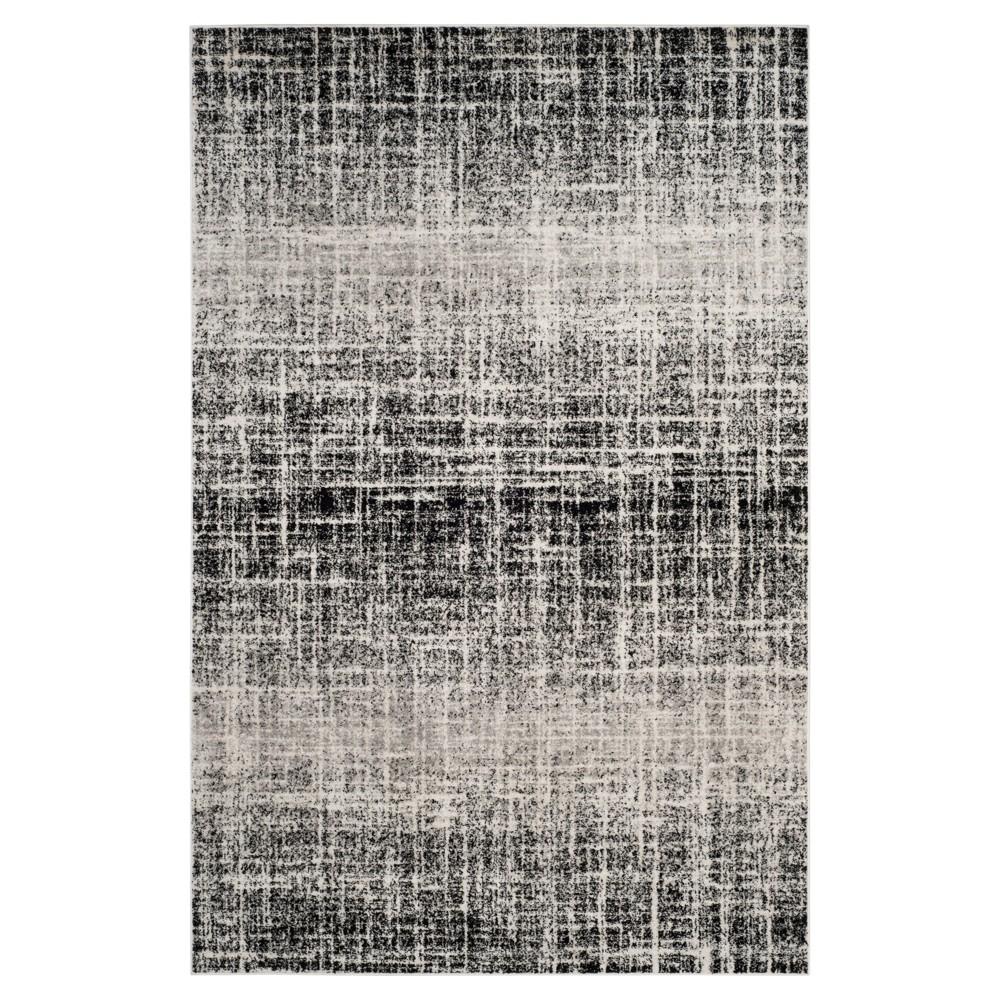 Adirondack Rug - Ivory/Silver - (5'1