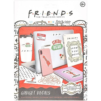 Friends Gadget Decal Stickers   4 Sheets