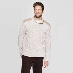 Men's Regular Fit 1/4 Zip Sweater Fleece Pullover - Goodfellow & Co™