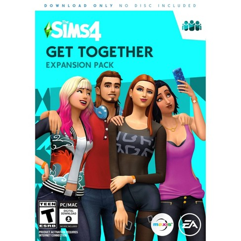The Sims 4: Get Together Expansion Pack PC Game