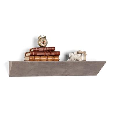 Triangular Ledge Wall Shelf - Gray - Danya B.