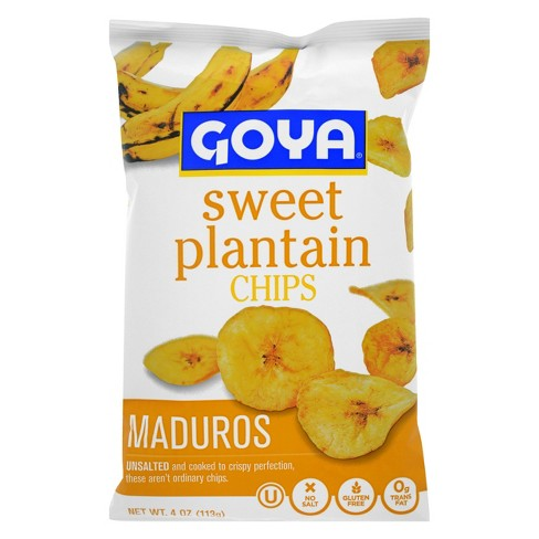 Goya Maduros Unsalted Sweet Plantain Chips - 5oz - image 1 of 2