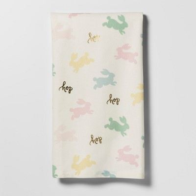 Scattered Bunny Kitchen Towel - Threshold™