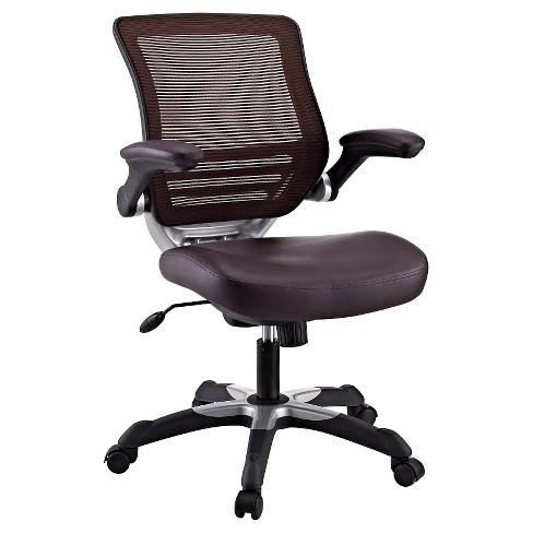 Office Chair Modway Dark Brown - image 1 of 6
