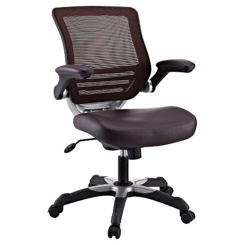 Office Chair Modway Dark Brown Target