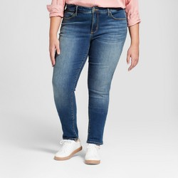 Women's Plus Size Skinny Jeans - Universal Thread™ Medium Wash