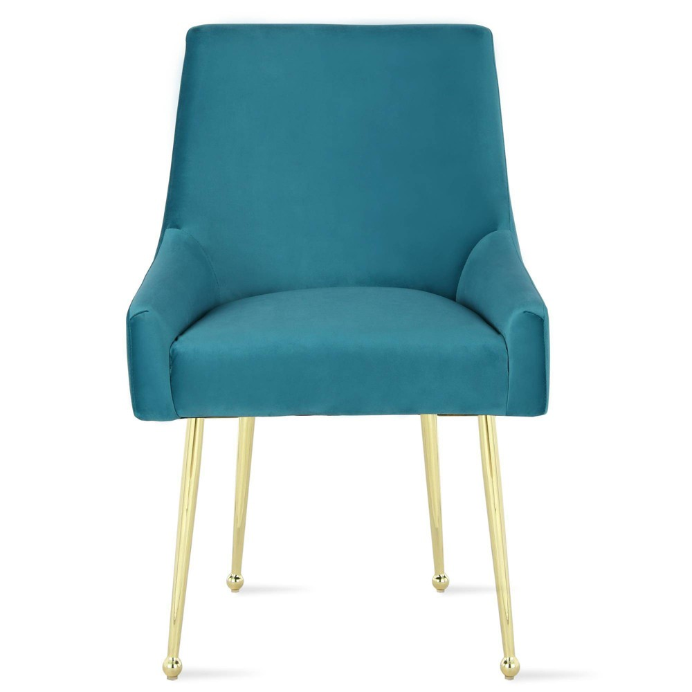 Image of 2pc Huxley Dining Chairs Blue - Novogratz
