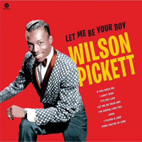 Wilson Pickett - Let Me Be Your Boy: The Early Years: 1959-1962 (Vinyl) - image 1 of 1