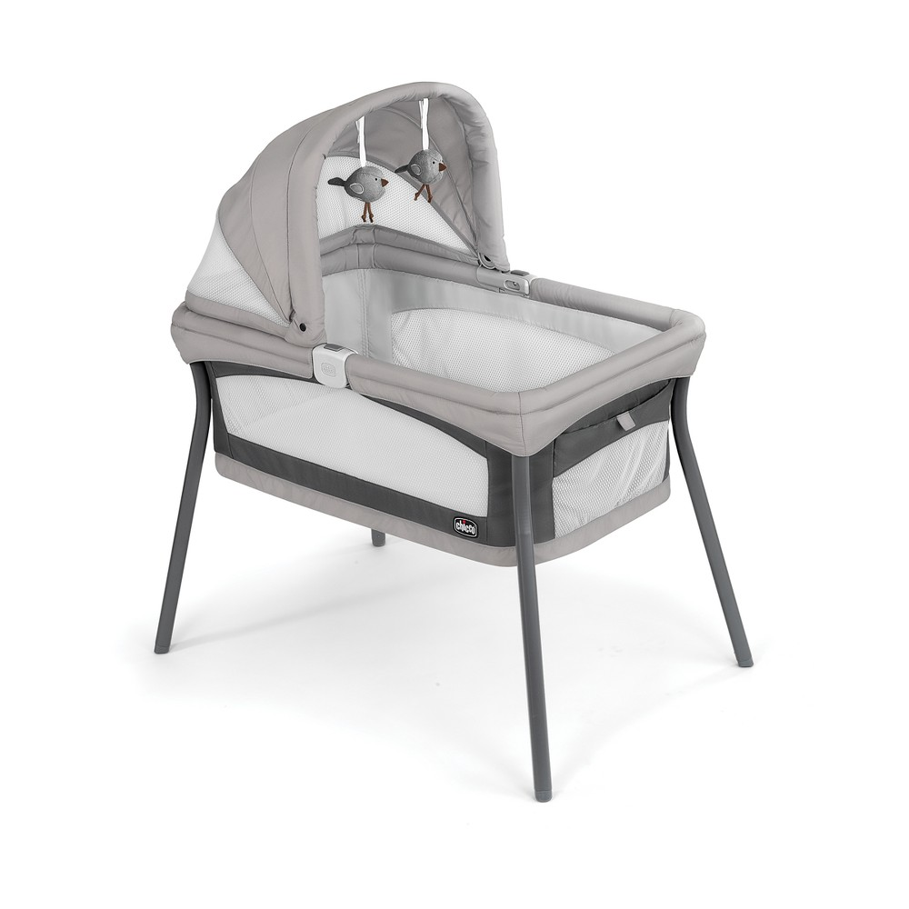 Chicco Lullago Nest Portable Bassinet - Vanilla (White)