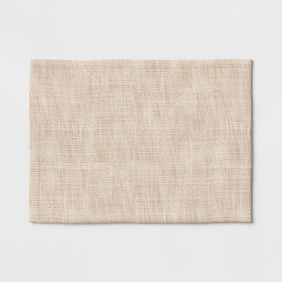 Cotton Woven Textured Placemat Brown - Threshold™