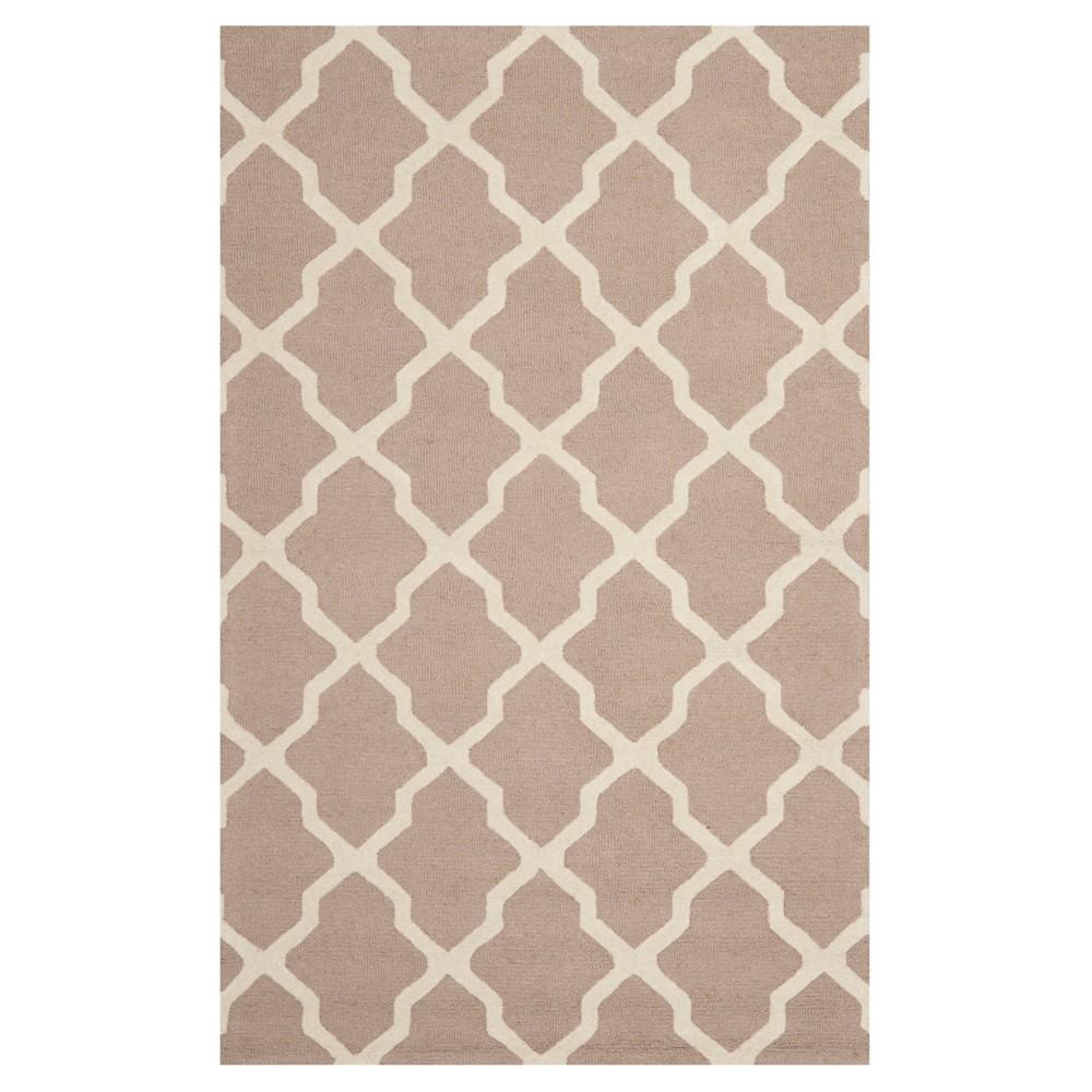Maison Textured Rug - Beige / Ivory (5'X8') - Safavieh, Beige/Ivory