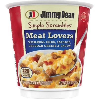 Jimmy Dean Simple Scrambles Meat Lovers - 5.35oz