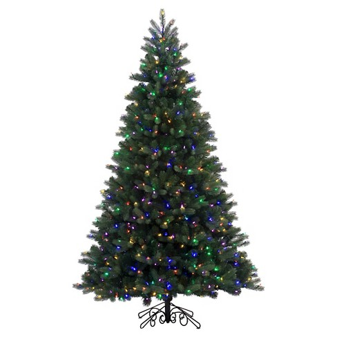 About this item - 8ft Pre-Lit LED Artificial Christmas Tree Full Natural Alpine