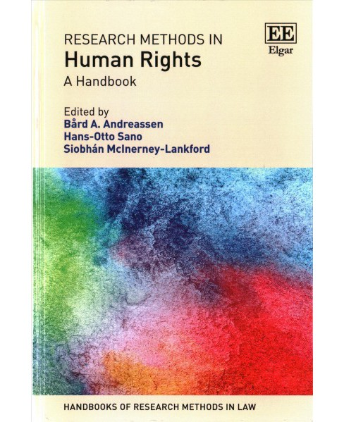 Research Methods in Human Rights : A Handbook (Hardcover) - image 1 of 1