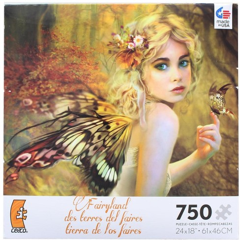 Ceaco, Inc Fairyland Touch Of Gold 750 Piece Jigsaw Puzzle - image 1 of 3
