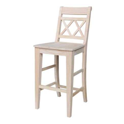 Canyon Bar Height Stool Black - International Concepts - image 1 of 4