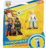 Fisher-Price Imaginext Disney Pixar Toy Story Combat Carl And Bo Peep - image 3 of 3