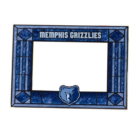 """NBA Memphis Grizzlies Art Glass Frame 4""""x6"""" - image 1 of 1"""