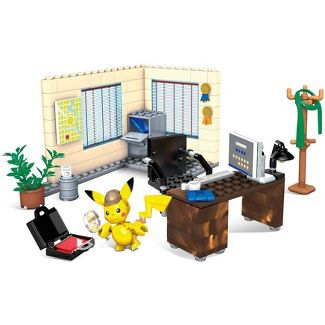 Mega Construx Pokémon Detective Pikachus Office Building Set