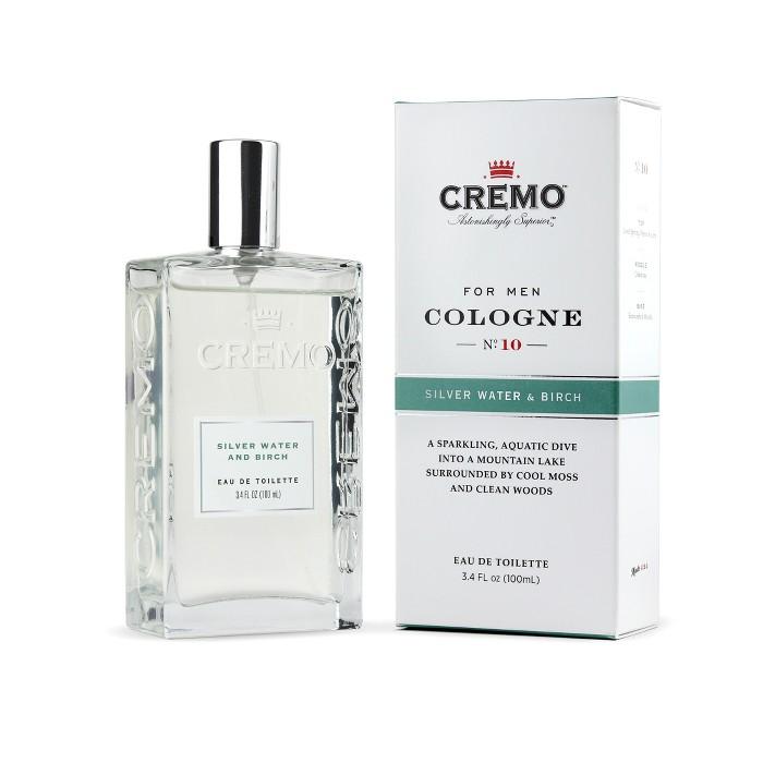 Cremo Silver Water & Birch Men's Spray Cologne - 3.4 fl oz - image 1 of 5