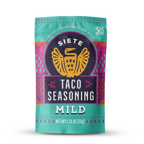 Siete Mild Taco Seasoning - 1.31oz - image 1 of 4