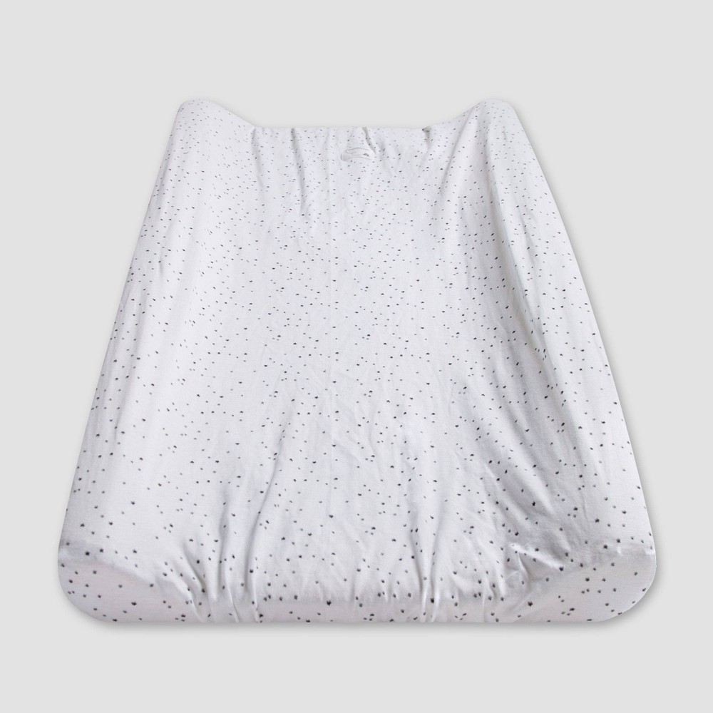 Image of Burt's Bees Baby Changing Pad Covers White