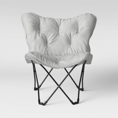 Butterfly Chair Gray - Room Essentials™