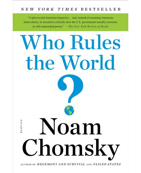 Who Rules the World? (Reprint) (Paperback) (Noam Chomsky) - image 1 of 1