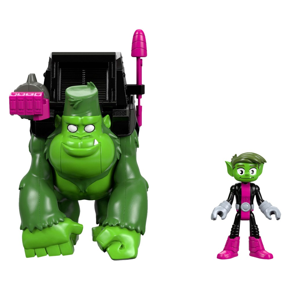 Fisher-Price Imaginext Teen Titans Go! Beast Boy and Gorilla