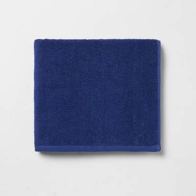 Everyday Solid Bath Towel Bright Blue - Room Essentials™