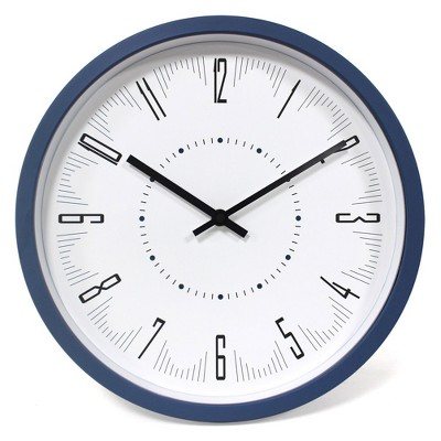 13  Blue and White Wall Clock - Project 62™